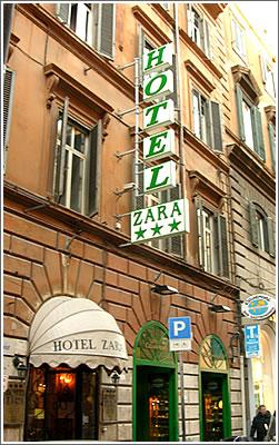 Hotel Zara Rome Italy